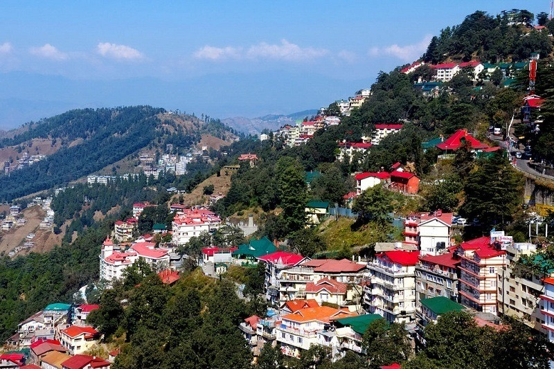 sky view of shimla