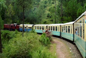 toy train carrying passenger