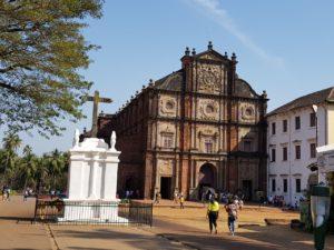 dudhsagar old church of goa