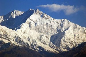 Khangchendzonga mountain