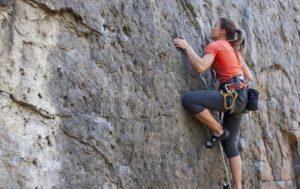 rock climbing at tenzing rock