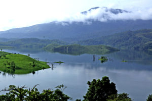 mountain and river in wayanad
