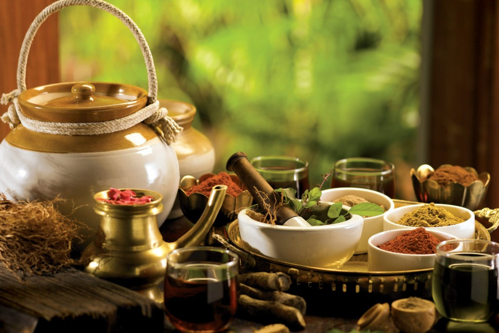 ingredients of ayurveda