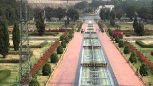 brindavan garden sky view