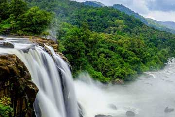 waterfall in kerala