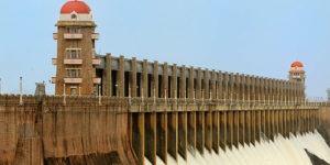 top of a dam