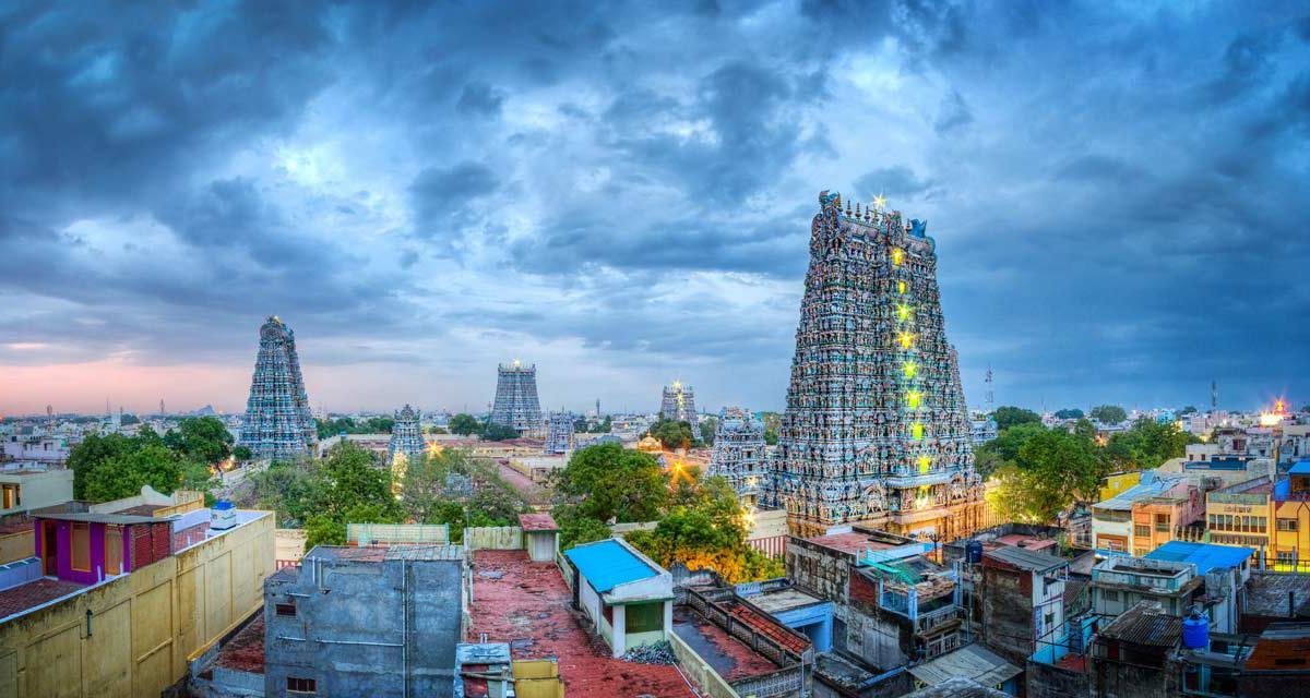 multiple temple in south india