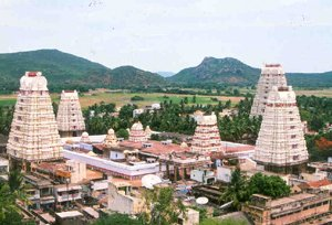full view of rameshwaram temple