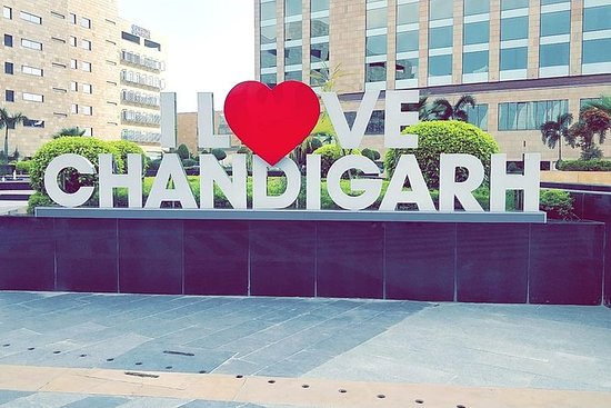 sign of i love chandigarh
