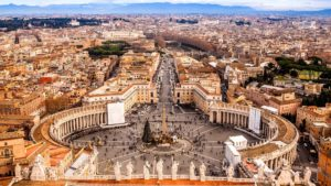 saint peter's square in vatican city