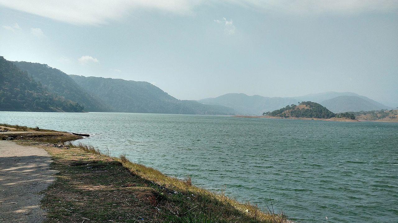 water, mountain