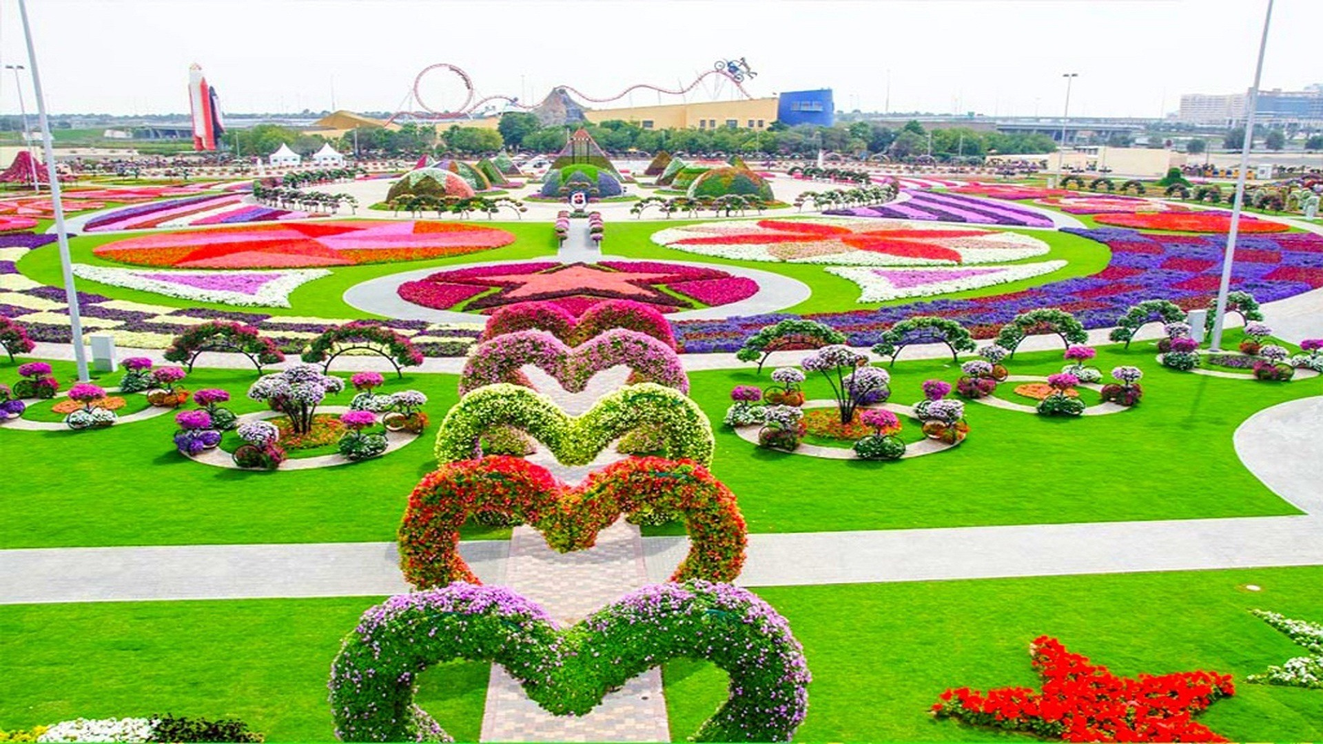 Theme park in Dubai