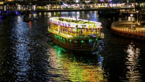 luxury ferry boat dubai