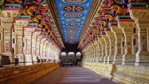 inside a temple of kerala