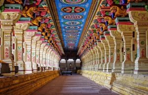 inside a temple of kerala
