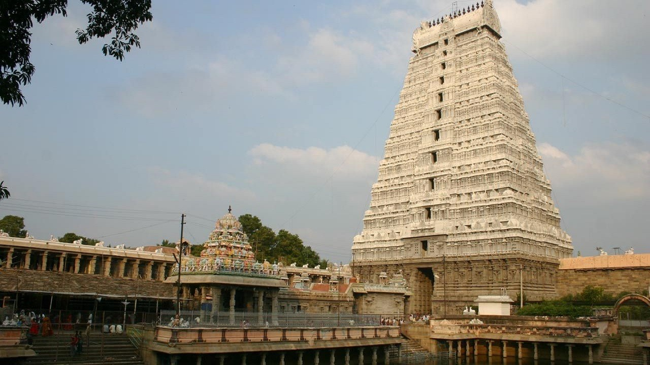 Ramanathaswamy Temple in south india
