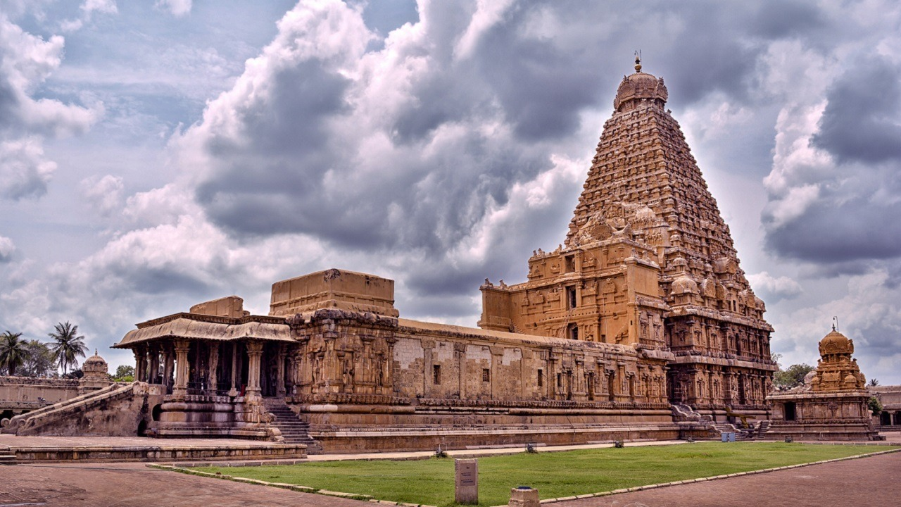 Brihadeeswarar Temple in south india