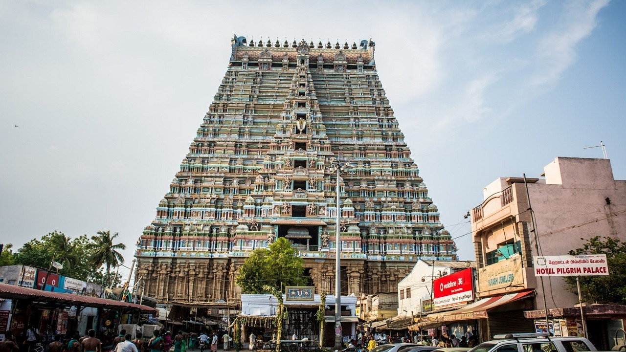 chidambaram temple in south india