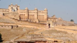 an old fort in rajasthan