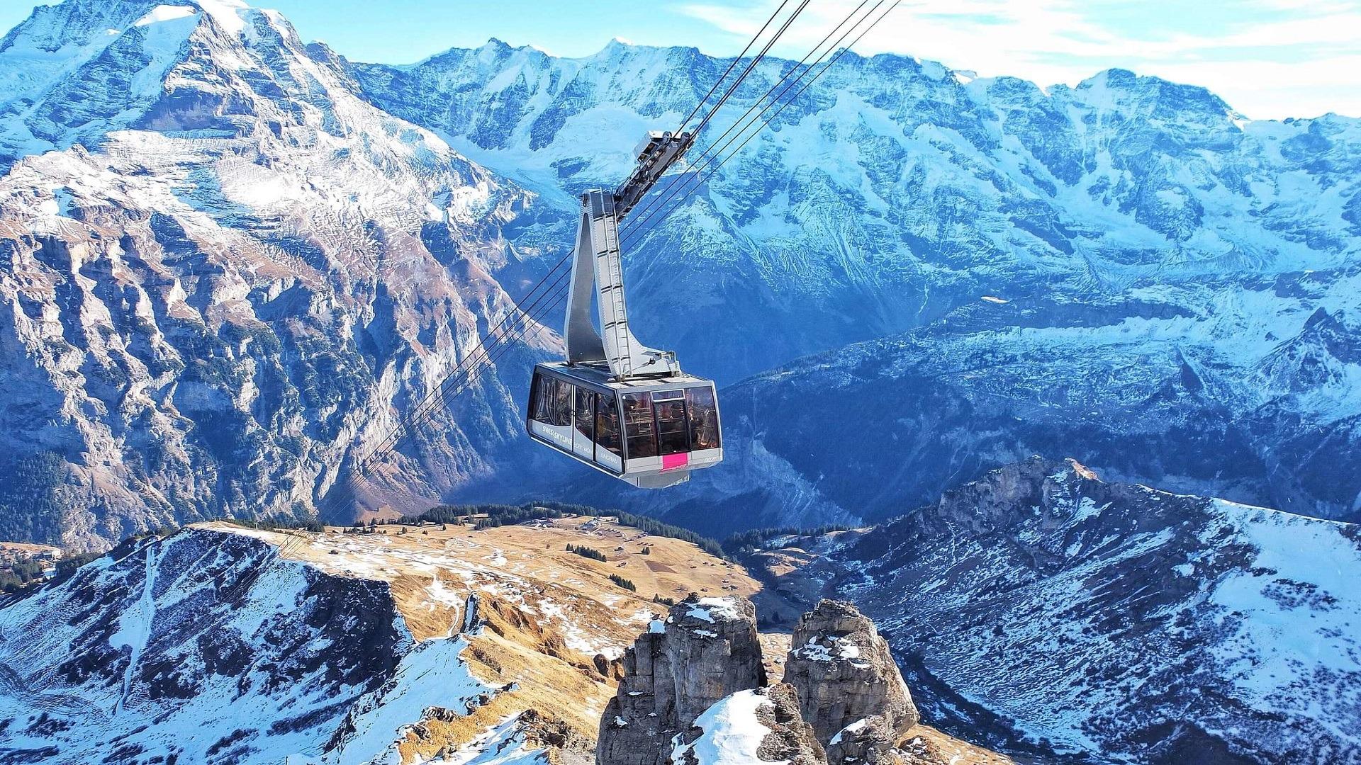 mountain cable car