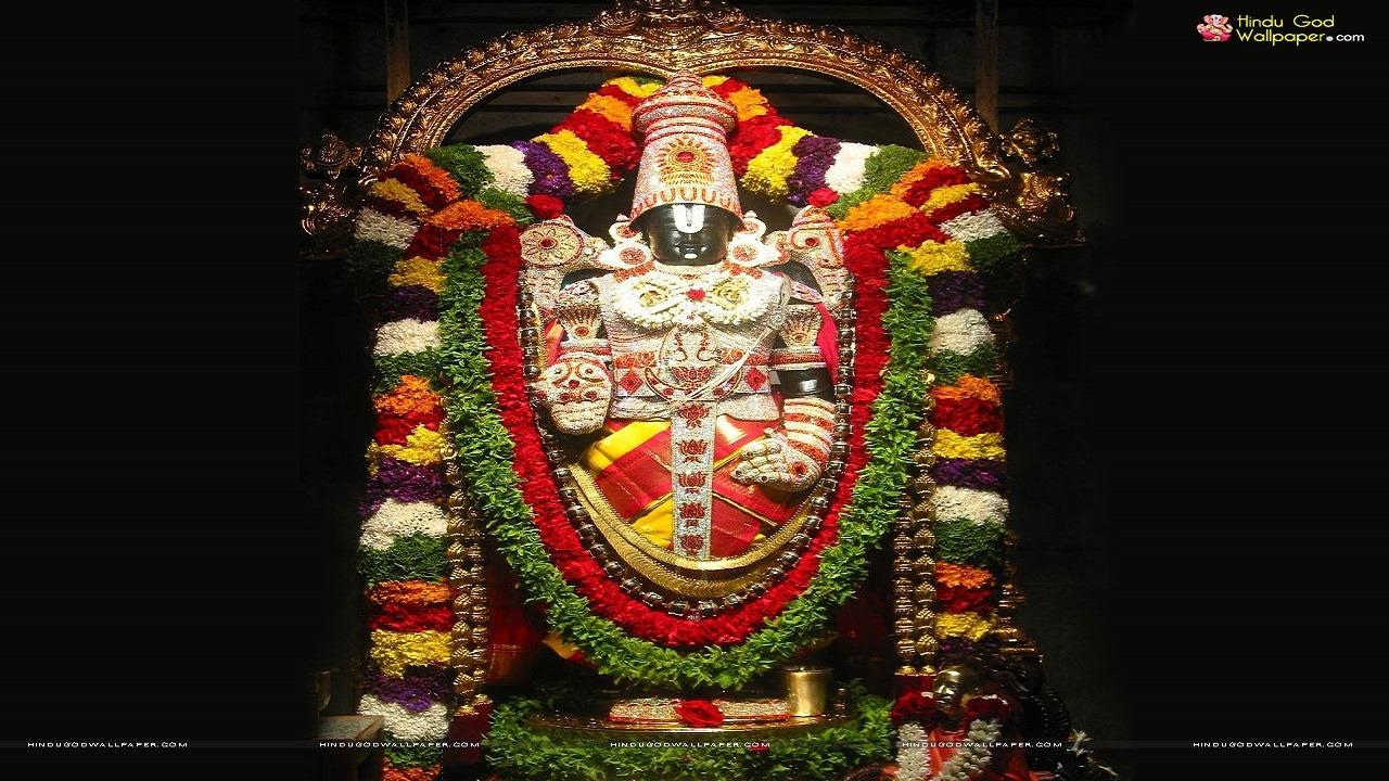god tirupathi statue